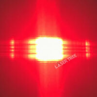 638nm 500mW Red Laser Diode with FAC Fiber, Square Spot