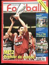 France Football du 9/04/1996; Le FC Metz remporte la coupe de la ligue/ Auxerre