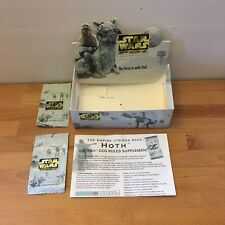 Star Wars CCG Hoth Booster Display Box And Rules/Checklist