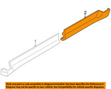 Lincoln FORD OEM 09-16 MKS-Rear Rocker Molding Right 8A5Z5410176CA