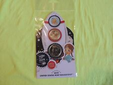 2019 United States Mint Rocketship Coin Set Sealed in Mint Plastic /Kennedy Half