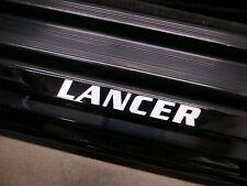 (2pcs) LANCER doorstep badge decal MITSUBISHI