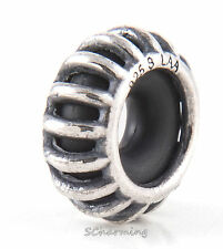 Authentic Trollbeads Silver Sunbeam Spacer TAGBE-10164