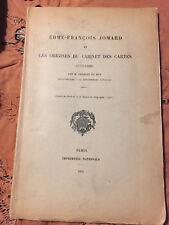 Edme Francois Jomard et les origines du cabinet des cartes - Charles du Bus 1932