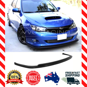 Front Lip Spoiler Splitter for Subaru Impreza WRX RS Narrow Body 2008-2010 STI