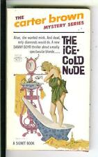 THE ICE COLD NUDE Carter Brown rare US Signet crime gga pulp vintage pb McGinnis