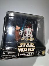 """2010 STAR WARS Disney Star Tours: Jedi Mickey and R2-MK 3 3/4"""" Action Figures"""