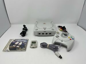 Sega Dreamcast Console Complete Bundle HKT-3020 With Games, Controller & Cables