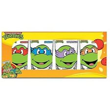 Teenage Mutant Ninja Turtles Faccie Occhiali 4-Pack