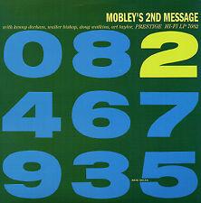 HANK MOBLEY Mobley's 2nd Message PRESTIGE RECORDS Sealed Vinyl Record LP
