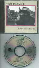 TOM RUSSELL Heart On A Sleeve 1986 CD ALBUM BEAR FAMILY WEST GERMANY