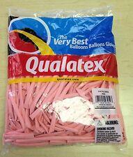 Qualatex Pink 260Q Entertainer Balloons ~ 100 ct.
