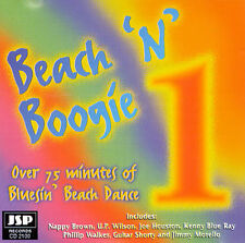 Beach 'N' Boogie, Vol. 1 (CD, Jul-1997, JSP (UK))  OUT OF PRINT CD