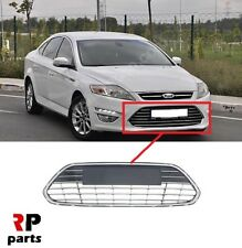FOR FORD MONDEO MK4 10-15  FRONT BUMPER CENTER LOWER GRILLE CHROME TRIM / STRIPE