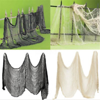 Novelty Gothic Halloween Creepy Gauze Cloth Door House Decor Props Party Decor