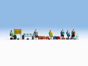 NOCH 15221 Spur H0, Figuren Reisende und Zubehör #NEU in OVP##