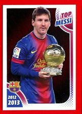 FC BARCELONA 2012-2013 Panini - Figurina-Sticker n. 167 - TOP MESSI -New