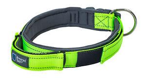Armored Tech Dog Control Halsband Neon Grün L Leine = 47 - 53 cm + Leine 220cm !