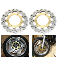 Wave Front Brake Disc Rotors for Yamaha YZF R6 99-02 YZF600R Thundercat 96-07
