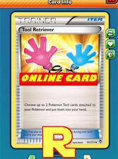 2x Tool Retriever - for Pokemon TCG Online ( ptcgo in Game Card)