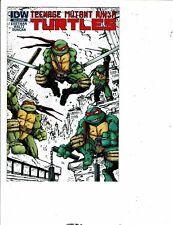 Teenage Mutant Ninja Turtles SDCC Ashcan Mini Comic Book IDW VF/NM Eastman J289