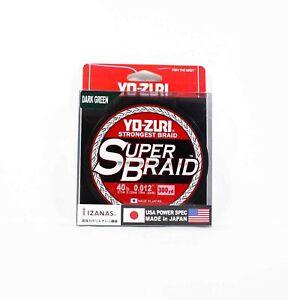 Yo Zuri Duel P.E Line Super Braid 300YDS 40Lbs (0.32mm) Green R1268-DG (1347)