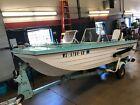 15' Crestliner Muskie Tri-Hull 60HP Johnson w/ TeeNee Trailer  T1292448