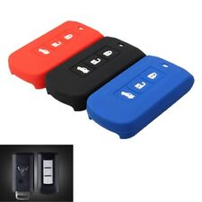 3 Buttons Silicone Key Cover Case Fob Fit MITSUBISHI LANCER OUTLANDER PAJERO ASX
