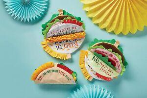 """Mud Pie E1 The Kids Shoppe Baby Taco 3.25x7.25"""" Soft Cotton Book"""