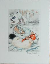 Louis Icart Original Etching Hand Signed Limited Edition Orgy Prelude 1947 Rare