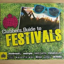 3CD NEW - CLUBBERS GUIDE TO FESTIVALS Pop Club Dance House Music 3x CD Album MOS