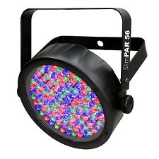 Chauvet DJ SlimPar 56 LED DMX Slim Par Flat Can RGB Wash Light Effect Fixture