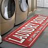 Laundry Room Runner Rug 20 x 59 Non Slip Rubber Backing Area Rug