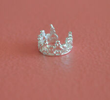 925 Sterling Silver Crown Ear Cuff - No Piercing Earring Clip On - Crown Ear Pin
