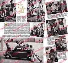 Vw beetle bretzel kinderauto mahag station-service NINO-FLEX Munich Haidhausen 1951!!!