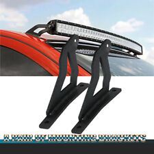 For TITAN LIGHT BRACKET Curved LED Light Bar Upper Windshield Roof Mounts