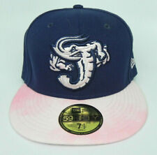 JACKSONVILLE JUMBO SHRIMP MiLB NEW ERA MOTHER'S DAY 59FIFTY SIZE 7 1/2 HAT CAP