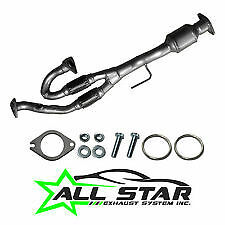 Fits; NISSAN MAXIMA, 04-06  NISSAN QUEST 04-09  3.5L Y pipe W/CAT AND O2 SENSOR