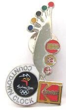 COUNTDOWN CLOCK KODAK FILM SYDNEY OLYMPIC GAMES 2000 PIN BADGE COLLECT #178