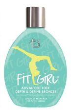 Tan Inc Fit Girl Tanning Lotion Bronzer. 13.5 oz.