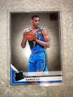 Darius Bazley 2019-20 Donruss Clearly Acetate Rated Rookie RC #99 OKC Thunder!