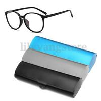 Matte Slim Hard Metal Glasses Protection Eyeglasses Case Spectacles Holder Box