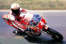 Mike Hailwood & Ducati 900 NCR Brands Hatch - 1978 motorcycle racing photo grand