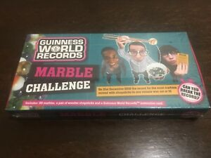 NEW Guinness World Records Marble Challenge Game