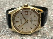 VINTAGE 1977  SEIKO GS 6145-8000 GOLD CAPPED AUTOMATIC WRISTWATCH