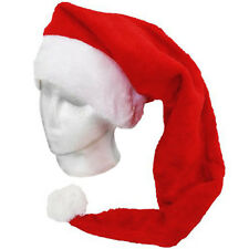 30in Christmas Santa Claus Fancy Dress Party Costume Accessory Long Red Hat
