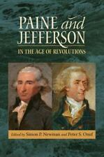 Paine and Jefferson in the Age of Revolutions (Hardback or Cased Book)