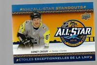 SYDNEY CROSBY  2018-19 TIM HORTONS  ALL STAR #AS2  MRMT