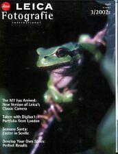Leica Fotografie International Magazine April 2002 M7 EX 032117lej