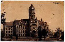 Olympia Washington State Capitol Vintage Postcard 1907 Walla Walla